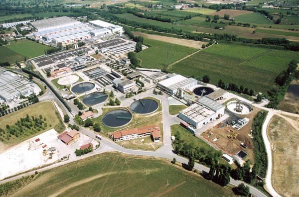 Sistema depurazione acque reflue industriali